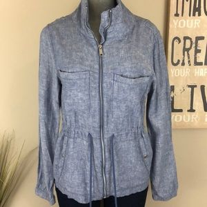 Old Navy Chambray Utility Jacket